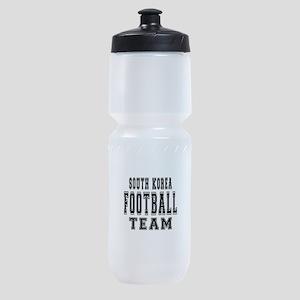 South Korea Football Team Sports Bottle