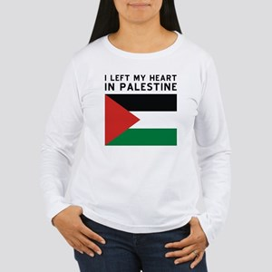 Support Palestine Women's Long Sleeve T-Shirt