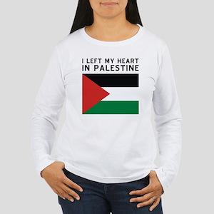 Support Palestine Women's Long Sleeve T-Shirt
