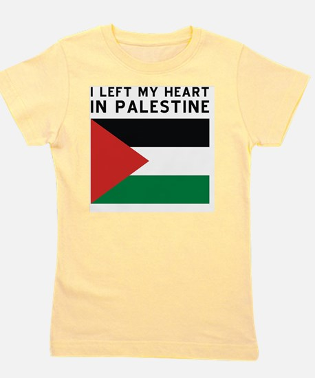 Support Palestine Girl's Tee