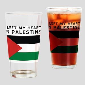 Support Palestine Drinking Glass