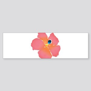 Watercolor of lush tropical hibiscus flowers Bumpe