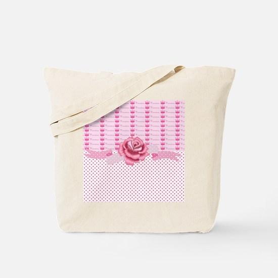 Crown Princess Rose Tote Bag