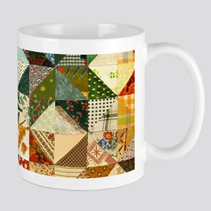 Fun Patchwork Quilt Mugs