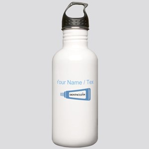 Custom Toothpaste Water Bottle