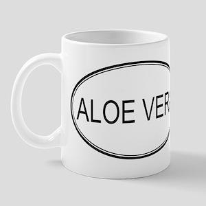 ALOE VERA (oval) Mug
