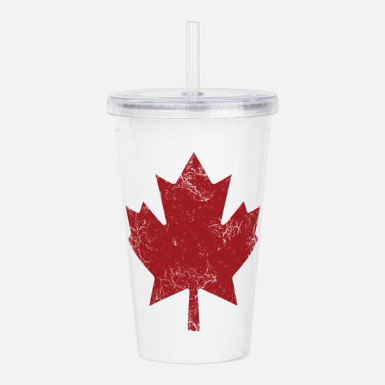 Unique Canadian Acrylic Double-wall Tumbler