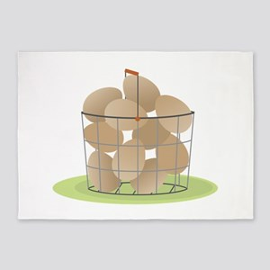 Eggs Basket 5'x7'Area Rug