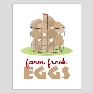 Farm Fresh Eggs Posters