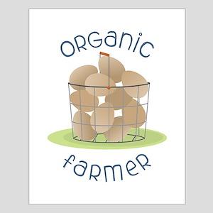 Organic Farmer Posters