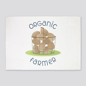 Organic Farmer 5'x7'Area Rug