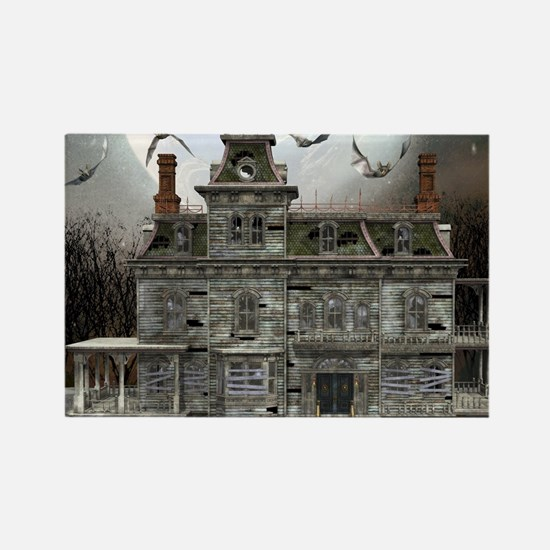 Haunted Halloween House 2 Magnets
