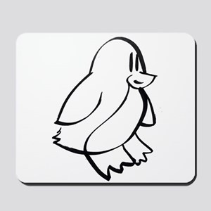 Penguin Profile Mousepad