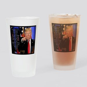 Proud to be a Deplorable Drinking Glass