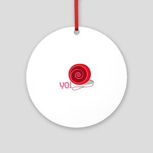 Yo! Ornament (Round)
