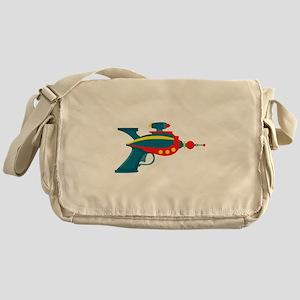Ray Gun Messenger Bag