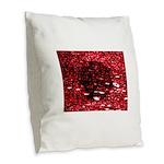Digital universe Burlap Throw Pillow