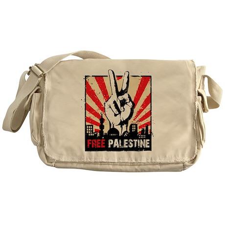free palestine Messenger Bag