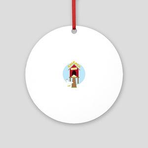CHICKEN Ornament (Round)