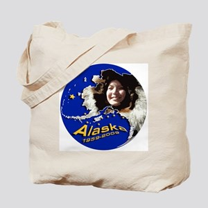 Alaska 50th Anniversary Tote Bag
