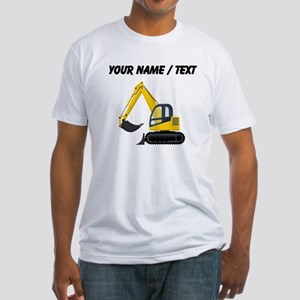 Custom Yellow Excavator T-Shirt