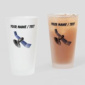 Custom Satellite Drinking Glass