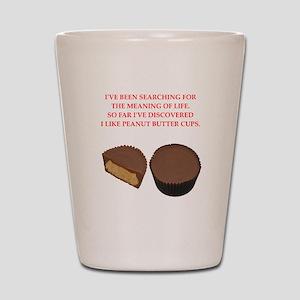 peanut butter cup Shot Glass