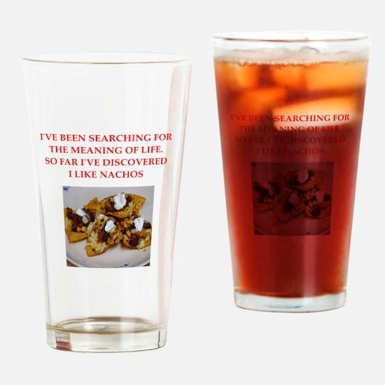 nachos Drinking Glass