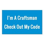 Craftsmanship Sticker