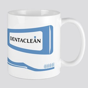 Toothbrush And Toothpaste Mugs