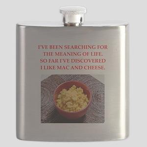 macaroni and cheese Flask