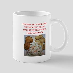 cole slaw Mugs