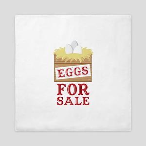 Eggs For Sale Queen Duvet