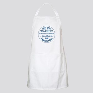 SHE WAS WARNED! Light Apron