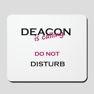 Deacon do not disturb Mousepad