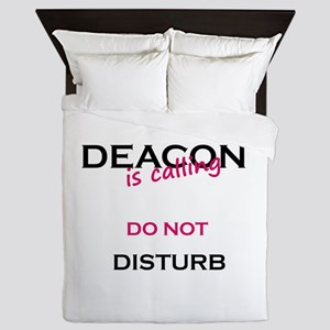 Deacon do not disturb Queen Duvet