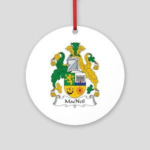 MacNeil Ornament (Round)