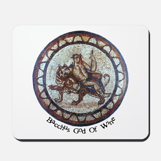 Bacchus God Of Wine Mousepad