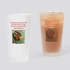 kielbasa Drinking Glass