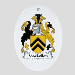 MacLellan Oval Ornament