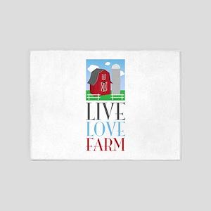 Live Love Farm 5'x7'Area Rug