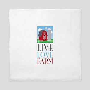Live Love Farm Queen Duvet