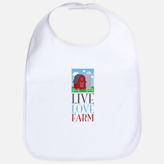 Live Love Farm Bib