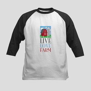 Live Love Farm Baseball Jersey