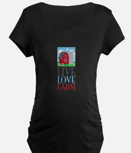 Live Love Farm Maternity T-Shirt