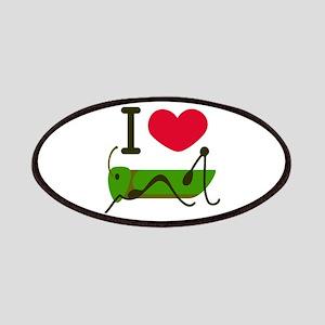 I Love Grasshopper Patches