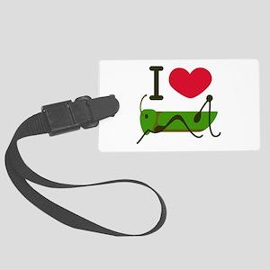 I Love Grasshopper Luggage Tag