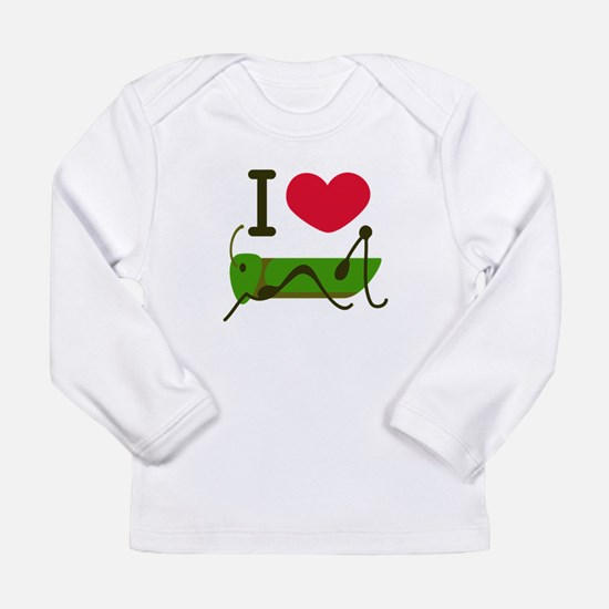 I Love Grasshopper Long Sleeve T-Shirt