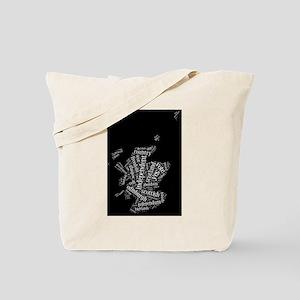 Scottish Independence Wordle Tote Bag