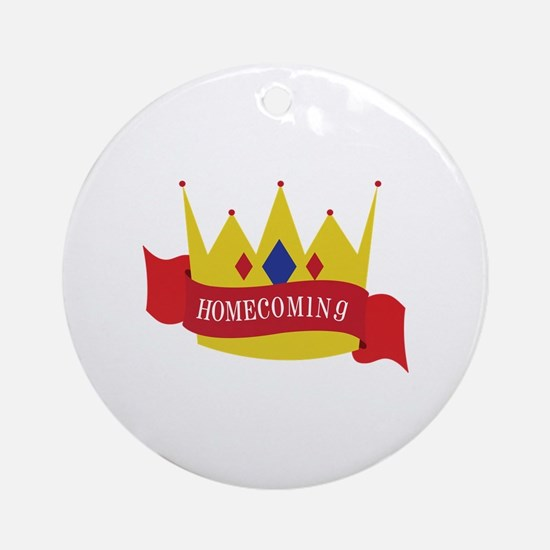 Homecoming Ornament (Round)